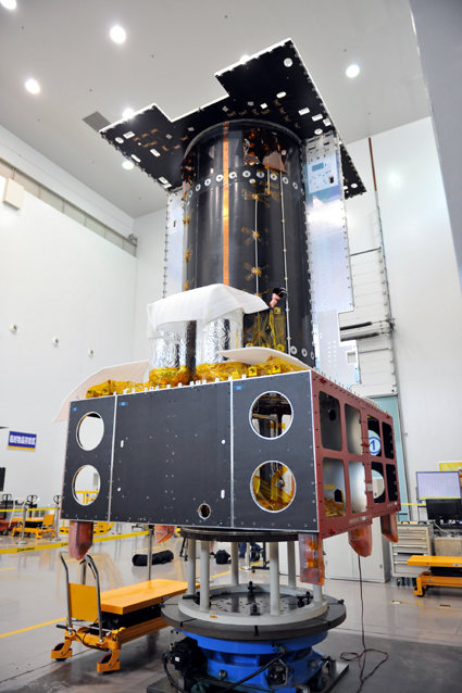 APSTAR-9 satellite now in AIT Phase