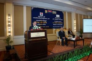 APT Held Satellite Knowledge Sharing Workshop in Cambodia 1