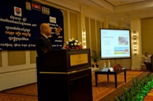 APT Held Satellite Knowledge Sharing Workshop in Cambodia 2