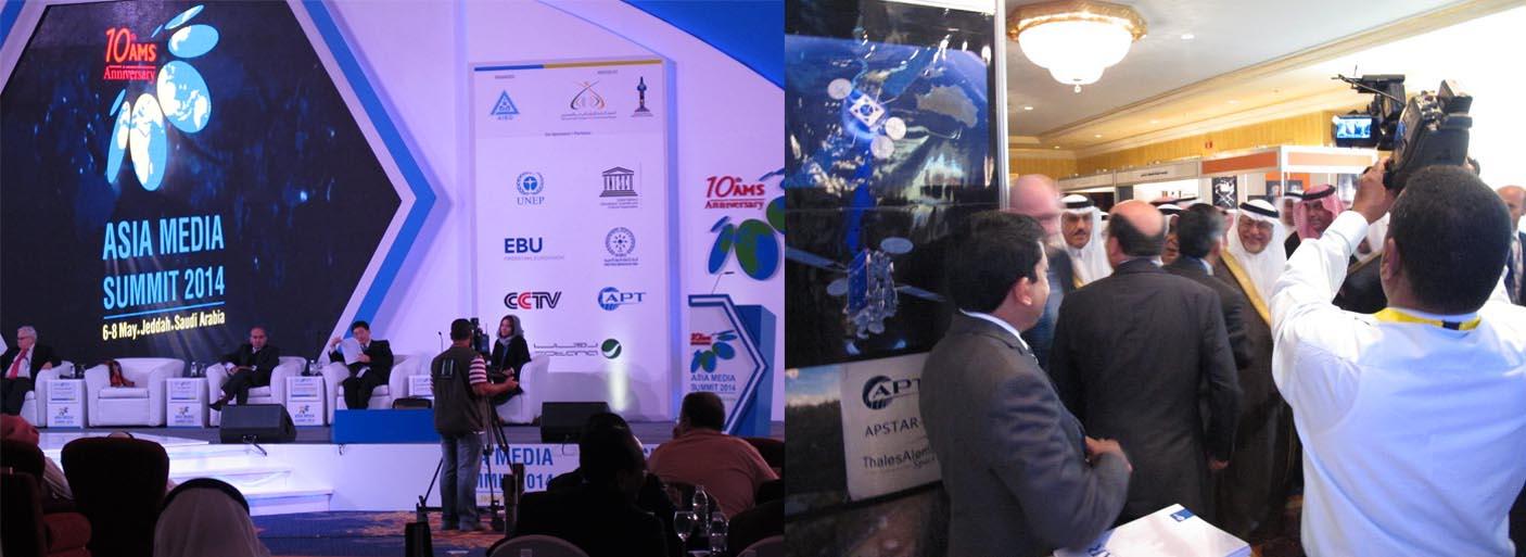 Asia Media Summit 2014, Jeddah