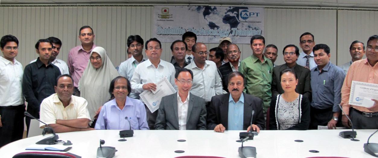 Satellite Technology Training at Bangladesh